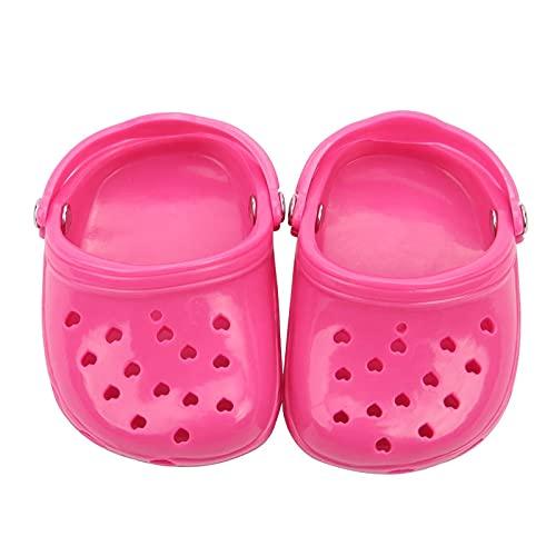LXTOPN Hermosas zapatillas para perros pequeños para perros, ajustables, transpirables, cómodas, sandalias de malla suave, suela antideslizante (rojo)