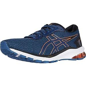 ASICS Men's GT-1000 9 Running Shoes, 12, Grand Shark/Pure Bronze