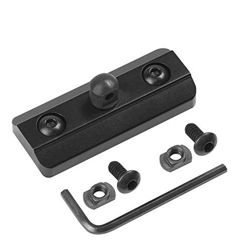 XAegis MLOK Bipod Adapter Mount Fits on Mlok System - Mlok Sling Stud - Includes 4 T-Nuts & 4 Screws and 1 Wrench (Mlok bipod Adapter)