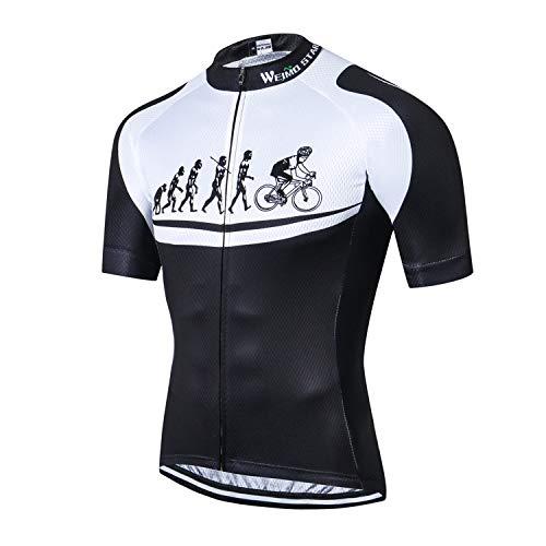 Ciclismo Jersey Hombres Riding Bike Ropa Manga Corta Bicicletas Deporte Camisetas Tops