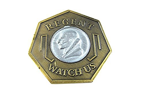 Dishonored Coin Game Token Replica Gold