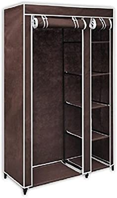 Sterling Foldable Wardrobe for Clothes Portable Cloth Storage Organizer for Home Foldable Storage Rack Collapsible Cabinet