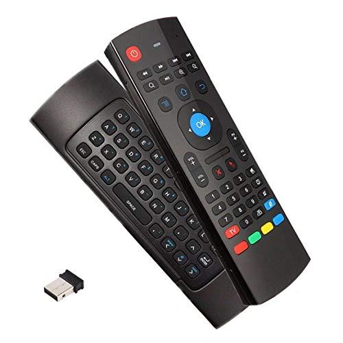 Controle Remoto Air Mouse Teclado Wireless Smart Tv Box Pc