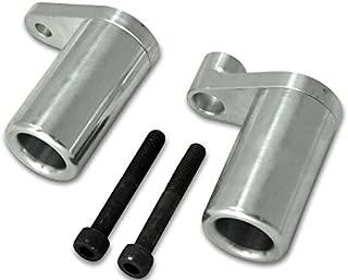 Yana Shiki USA A2837 Frame Sliders Frame Slider Kawasaki Zx10 (04-05) Silver Aluminum. No Fairing Modifications Required,1 Pack
