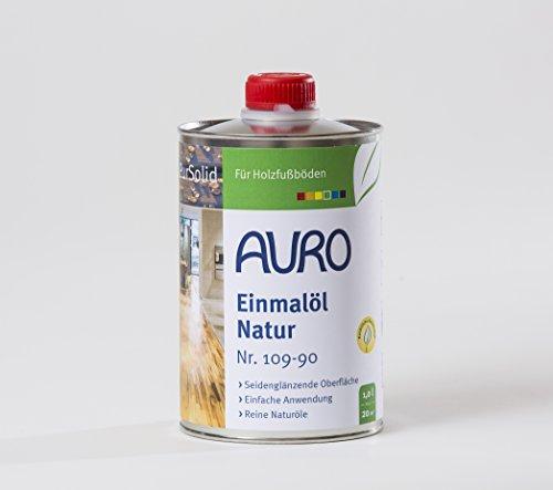 AURO Einmalöl PurSolid Natur Nr. 109-90, 1,00 Liter