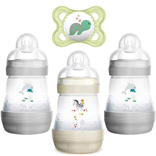 MAM Easy Start™ Anti-Colic Flasche 160 ml // 3er Set // inkl. Sauger Größe 1 ab Geburt //