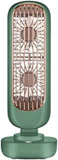 Cool down مروحة برج USB مع 3 سرعات بطارية ذات سعة كبيرة مروحة طاولة هادئة الرياح قوية المحمولة للمنزل مكتب سيارة في الهواء...