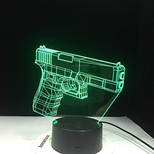 3D LED nachtlampje lamp nachtlampje Tocco garderobe bedlampje USB bedlampje cadeau-idee kinderen USB Luminaria Office Light