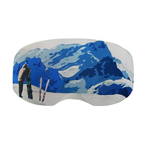 Coolcasc COOLMASC Funda para Gafas de Esqui SKI Resort