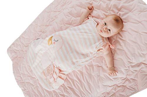 Bizzi Growin Mooie Roze Flora De Flamingo 2.5 tog Baby Slaapzak - 0-6mths