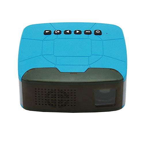 Power Banks Mini beamer, draadloos, draagbaar, DLP-projector voor thuisbioscoop, ondersteunt Android, WiFi, 1080P, HDMI USB TF
