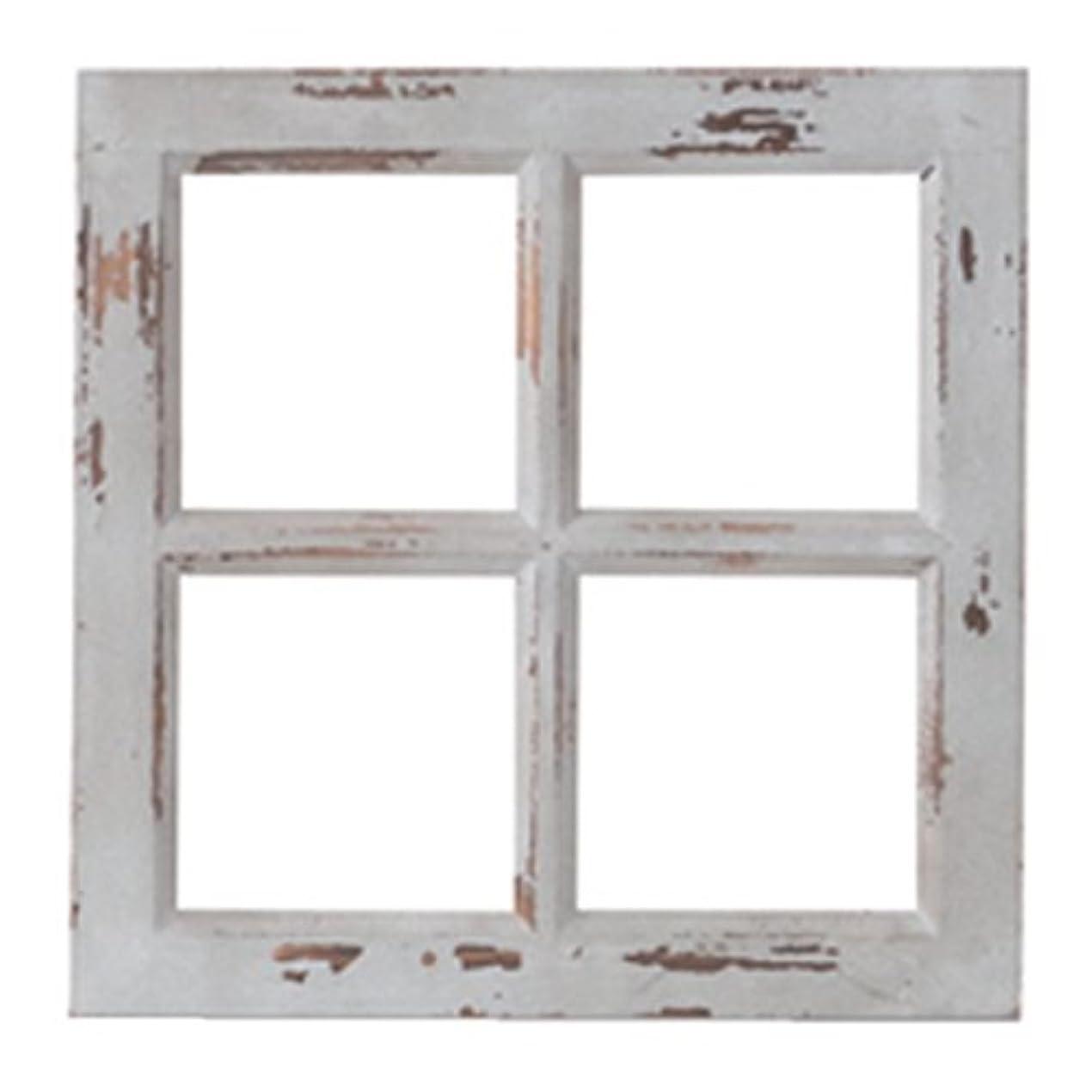 代表団付与広範囲にPL ウォールディスプレイ アンティーク調 窓枠 Petit Monde ウィンドウフレーム 40772