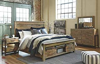 Amazing Buys Sommerford Bedroom Set by Ashley Furniture - Includes King Bed, Dresser, Mirror, 2 Night Stands and Chest