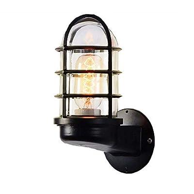 ▶ Estilo vintage: viste tu hogar con la lámpara de pared TAIZ.Perfecto para el tema rústico o industrial, ofrece un potente resplandor de iluminación.La iluminación industrial retro está muy de moda en este momento. ▶ Material: el material principal ...