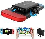Chargeur Portable Power Bank pour Nintendo Switch-10000mAh Étui de Chargeur de Batterie étendu Rechargeable - Pack de Batterie de Sauvegarde de Voyage Compact pour Nintendo Switch
