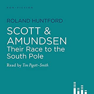 Scott and Amundsen audiobook cover art