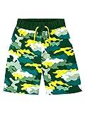 Harry Bear Shorts de Bain Garçon Camo Vert 7-8 Ans
