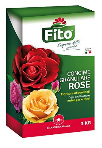 Fito 3Kg Concime Rose Granulare, Verde, 3 kg