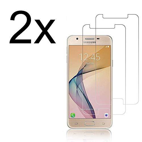Cardana 2X Bruchsicheres Panzerglas für Samsung Galaxy J5 2017 Schutzfolie aus 9H Echt Glas Schutzglas Next Gen Transparent