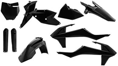 Acerbis Full Plastic Kit Black for KTM 450 SX-F Factory Edition 2015-2017