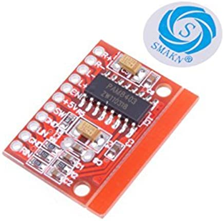 Amazon.com: SMAKN® High-Power 2-Channel 3W PAM8403 Audio Super Mini Digital Amplifier Board: Home Audio & Theater