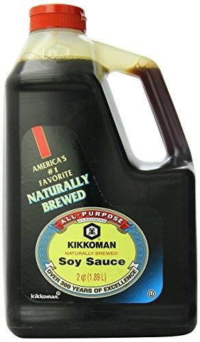 Kikkoman Soy Sauce, soy sauce, 64 fl oz