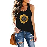 Queen's Here Women Fashion Tank Tops Summer Cotton Loose Casual Sleeveless Shirts