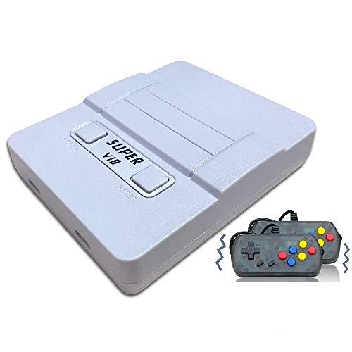 Console di Giochi Portatile , Console di Giochi Retro Game Console Built-in 169 Classic Giochi (30 Giochi Vibranti ),TV Output Videogioco Portatile per Genitori dei Bambini Amici - Grigio