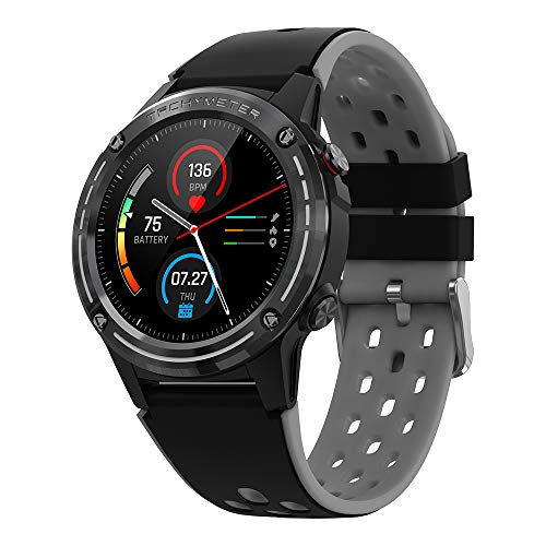 gandley Android GPS Smart Watch Fitness Tracker with Heart Rate Monitor, IP67 Waterproof Pedometer Music Control Sport Smart Watch for Men Women Kids compatible Android & IOS
