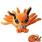 Anime Naruto Kurama Nine-Tails Fox Plush Doll Stuffed Animal Toy