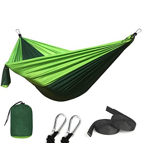Tragbare Camping Fallschirm Hängematte Survival Garden Gartenmöbel Freizeit Schlaf Reisen Doppel Hängebett