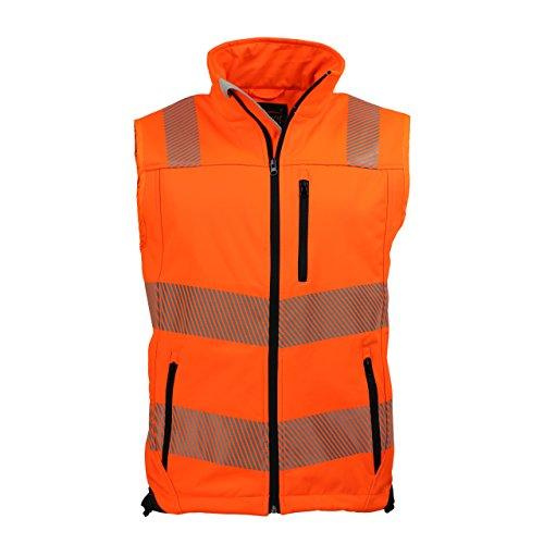 ASATEX Prevent Trendline Warnschutzweste PTW-SW, orange/schwarz, Gr. M