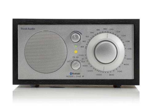 Tivoli Model One Bluetooth UKW-/MW-Radio in Schwarz/Silber