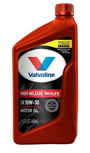 Valvoline High Mileage with MaxLife Technology