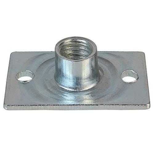 ALPIDEX 50 Spezial Einschlagmuttern M10 Stahl verzinkt Professional Anschraubmuttern