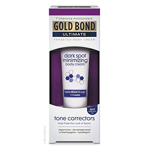 Gold Bond Dark Spot Minimizing Cream, White, Fragrance Free, 2 Ounce