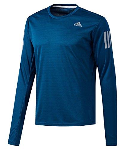 adidas RS LS M Camiseta, Hombre, Azul (azunoc), S