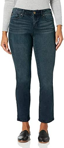 Bandolino Women s Mandie Signature Fit High Rise Straight Leg Jean Nightfall 18 product image