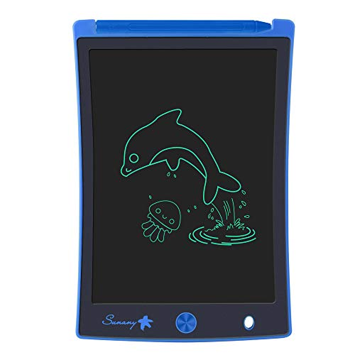 LCD Writing Tablet, 8.5 Inch Drawing Tablet Kids Tablets Doodle Board, Drawing Board Gifts for Kids and Adults at Home, School and Office (Blue)