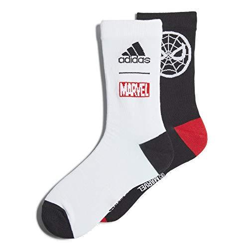 adidas Spiderman Socks Socken 2er Pack (43-45, multi)