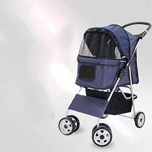 AzLLY Vijf kinderwagen voor op reis, opvouwbaar, voor huisdieren, met draagkracht, 15 kg