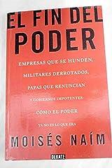 EL FIN DEL PODER Paperback