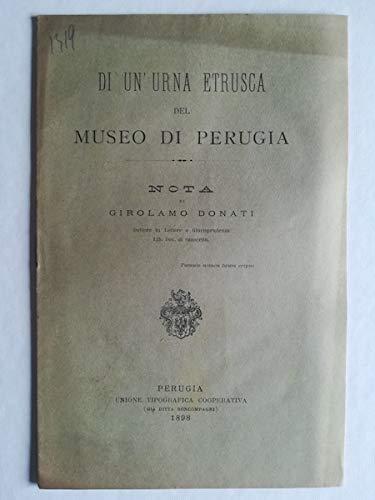 Di un'urna etrusca del Museo di Perugia. Nota