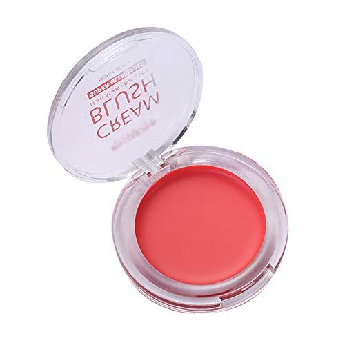 ARTIFUN Crème Blush Lisse Naturelle Non Collante Fard à Joues Texture Fine et Légère Couleur Rose Pêche Non Grasse Longue Tenue