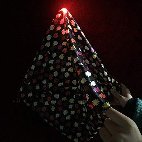 Ghost Lights Flotante Dedo Luz Mágica Juego de trucos Mágicos con Partido, Escenario Partido Etapa Cerca de Magia Props Pulgar