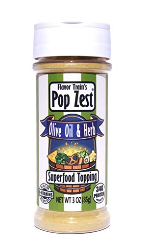Pop Zest- Olive Oil & Herb Dairy-free Superfood Topping