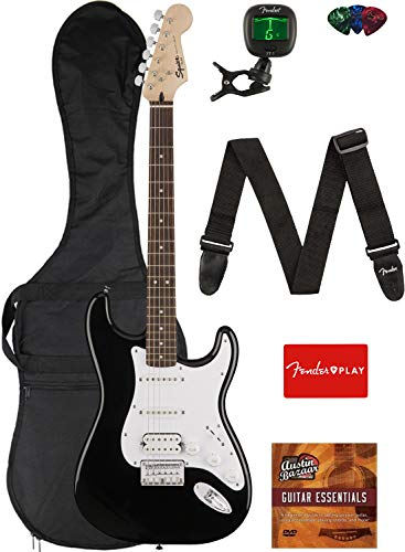 Fender Squier Bullet Stratocaster Beginner Electric Guitar Package
