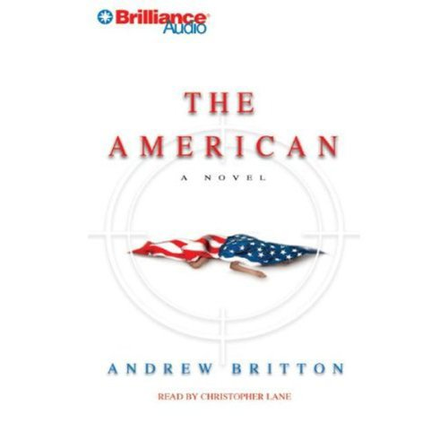 The American audiobook cover art