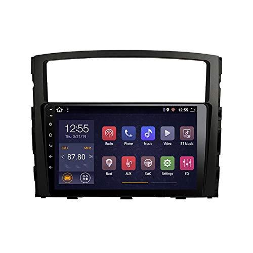WY-CAR Für Mitsubishi Pajero 2006-2011 Autoradio Auto Stereo 9 Inch in Dash Headunit HD Touchscreen GPS Navigation Lenkradsteuerung Unterstützung DAB RDS Analog TV SWC