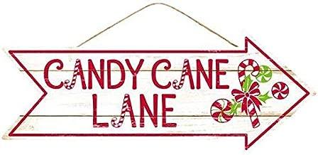 Candy Cane Lane Christmas Sign - 16